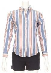 GANT RUGGER Her Madras Stripe Shirt