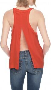 Silk Relaxed Womens Tank