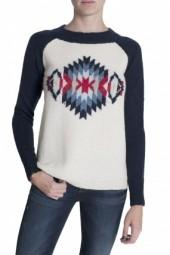 Kingsley Navajo Sweater Navy