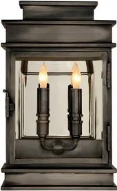 E.F. Chapman SHORT LINEAR LANTERN (interior version available)