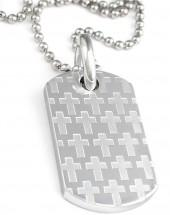 Simmons Jewelry Co. Stainless Steel Dog Tag