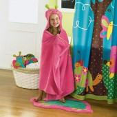 Jumping beans ® butterfly bath wrap