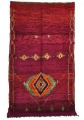 "Vintage Talsint Moroccan Berber Rug, 6'3"" x 11'6"" feet"