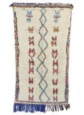 "Vintage Azilal Moroccan Berber Rug, 3'11"" x 6'2"" feet"