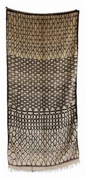 "Vintage Azilal Moroccan Berber Rug, 4'9"" x 9'10"" feet"