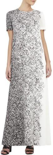 BCBGMAXAZRIA Alena Printed Maxi Dress