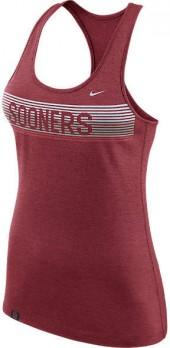 NIKE TEAM Women's Nike Oklahoma Sooners College Dry Racerback Tank