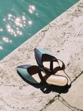 Mondrian Sandals Mint