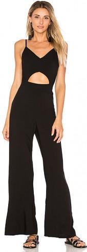 Indah Piper Jumpsuit in Black