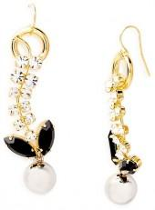 Marni Strass Drop Earrings