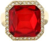 MONET JEWELRY Monet Jewelry Womens Red Stretch Ring