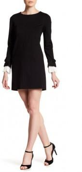 Cynthia Steffe Willa Pleated Cuff Dress