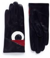 Maison Fabre 'Volatile' eye patch lambskin leather gloves