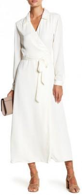 L'Academie The Wrap Maxi Dress