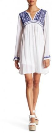 Romeo & Juliet Couture Embroidered Empire Waist Dress