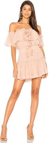 MISA Los Angeles Melis Dress in Blush