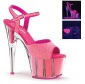 Women's Pleaser Adore 709G Ankle-Strap Sandal