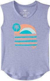 Roxy Girls' Sunday Sunset Youth Muscle Tee (816) - 8164745