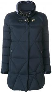 Fay quilted zipped-up jacket