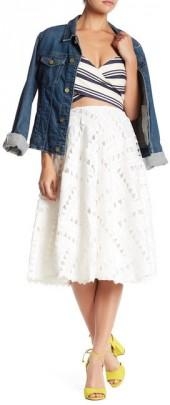 Line & Dot Jardin Lace Full Skirt