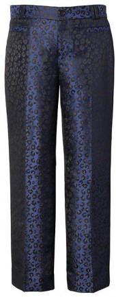 Logan-Fit Leopard-Print Crop Pant