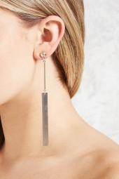 FOREVER 21 Ball Stud Duster Earrings