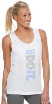 """Nike Women's Nike Sportswear """"Just Do It"""" Racerback Tank Top"""