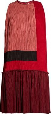 ROKSANDA Himegi colour-block plissé dress