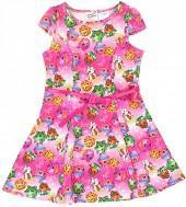"""Pink Shopkinsâ""""¢ Belted Skater Dress - Girls"""