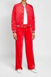 Juicy Couture Velvet Track Pants