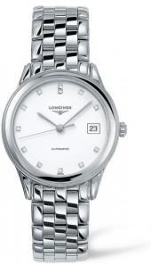 Longines Flagship Automatic Diamond Bracelet Watch, 35.5Mm