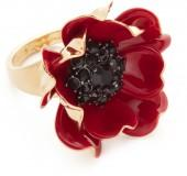 Kate Spade New York Precious Poppies Ring