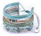 Mishky Potpourri & Dew Beaded Bracelet Set