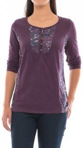 North River Paisley Henley Shirt - Long Sleeve (For Women)