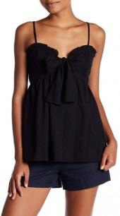 Melrose and Market Tie Front Cami