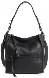 Botkier Small Paloma Leather Hobo - Black