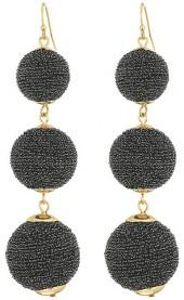 SHASHI - Matilda Sparkle Linear Drop Earrings Earring