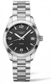 Women's Longines Conquest Classic Automatic Bracelet Watch, 34Mm