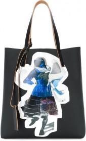 Marni Sally Smart print shopping bag