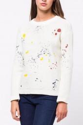 Movint Paint Splatter Sweater