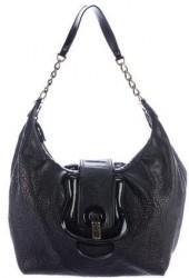 Fendi B. Leather Hobo