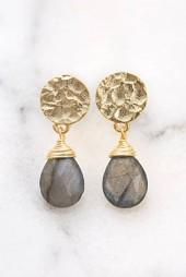 Azuni Gemstone Drop Earrings