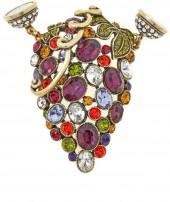 "Heidi Daus ""Que Shiraz Shiraz"" August Magnetic Pendant - Single Ship"