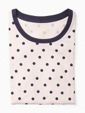 Long sleeve printed sleepshirt