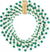 Rosantica - Universo Gold-tone Quartz Necklace - Green