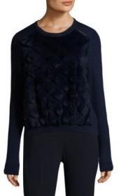 Elie Tahari Shanaya Wool Sweater
