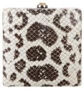 Reed Krakoff Snakeskin & Leather Clutch