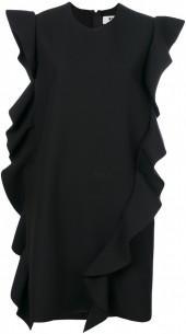 MSGM ruffle detail mini dress