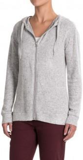 Workshop Republic Clothing Zip-Up Sweatshirt - Hooded (For Women)