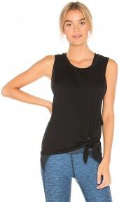 Beyond Yoga All Tied Up Racerback Tank in Black. - size L (also in M,S,XS)